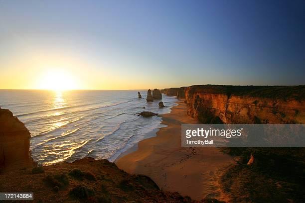 Sunset at the Twelve Apostles