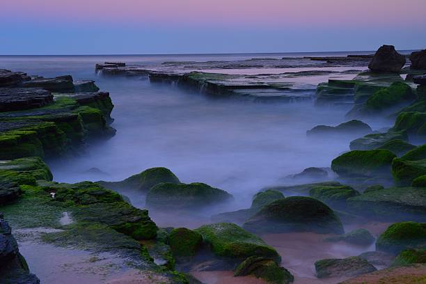 Sunset at Turimetta beach