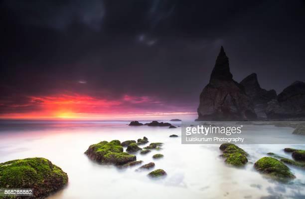 Sunset at Ursa Beach