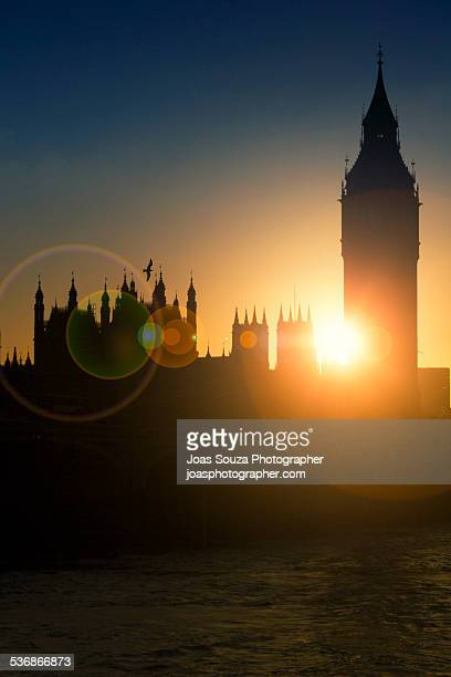 Sunset at Westminster