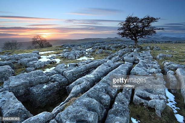 Sunset at Winskill Stones, Yorkshire Dales, UK