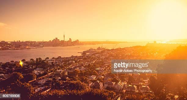 Sunset Auckland City.