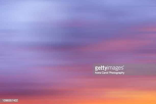 sunset background - purple sky stock pictures, royalty-free photos & images