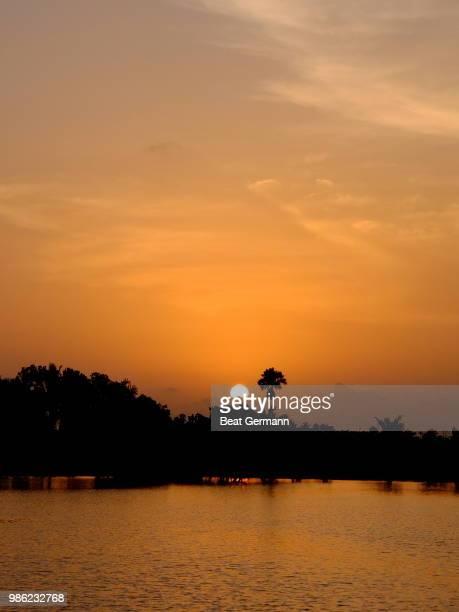 Sunset, Backwaters, Kerala