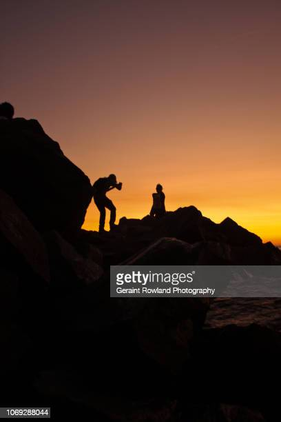 Sunset Beach Model Shoot, Peru
