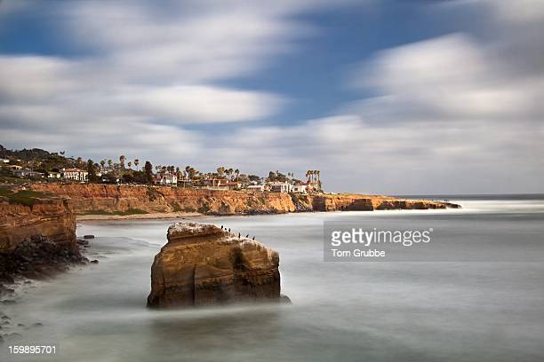 Sunset Cliffs in Motion