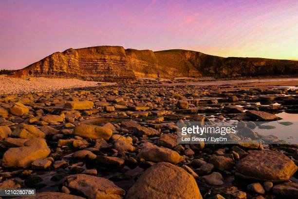 sunset colours - geology stock pictures, royalty-free photos & images