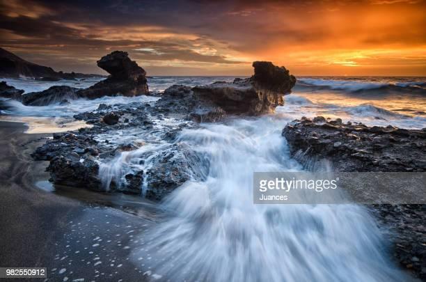 sunset en la solapa - solapa - fotografias e filmes do acervo