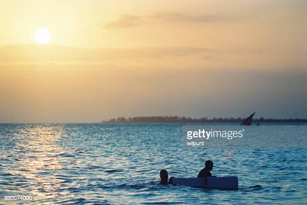 Sunset Float