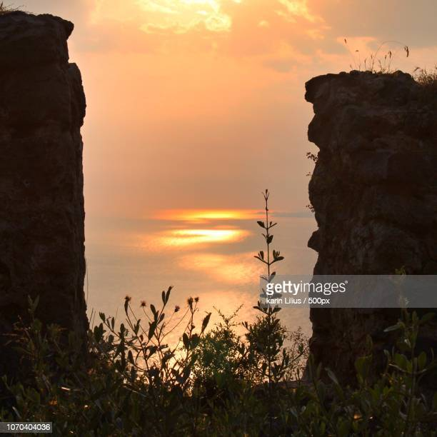 Sunset from Alanya Castle
