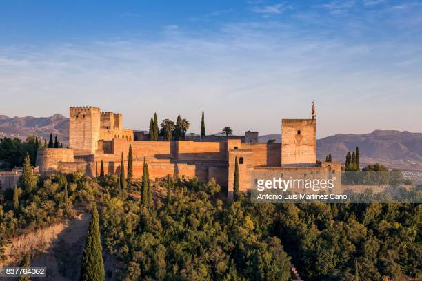 Sunset from Alhambra from the Albaicin