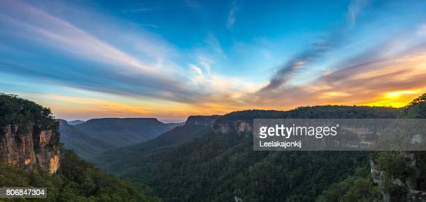 Sunset from Fitzroy falls