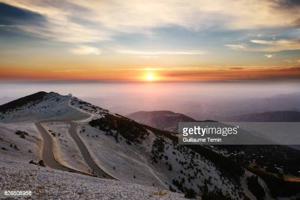 Sunset From Mont Ventoux