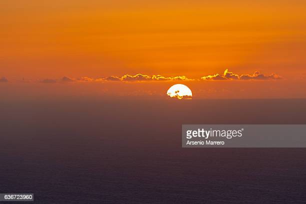 Sunset from Teno in Tenerife, Canary Islands