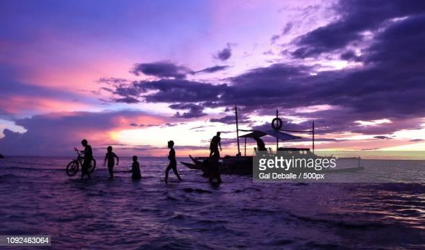 Sunset in Apo island
