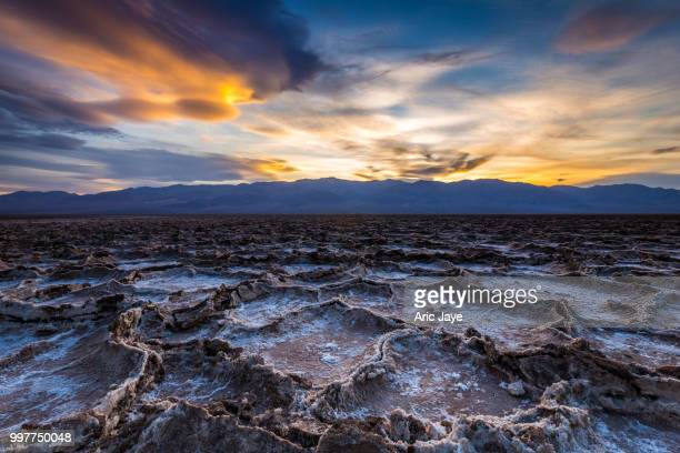 Sunset in Badwater