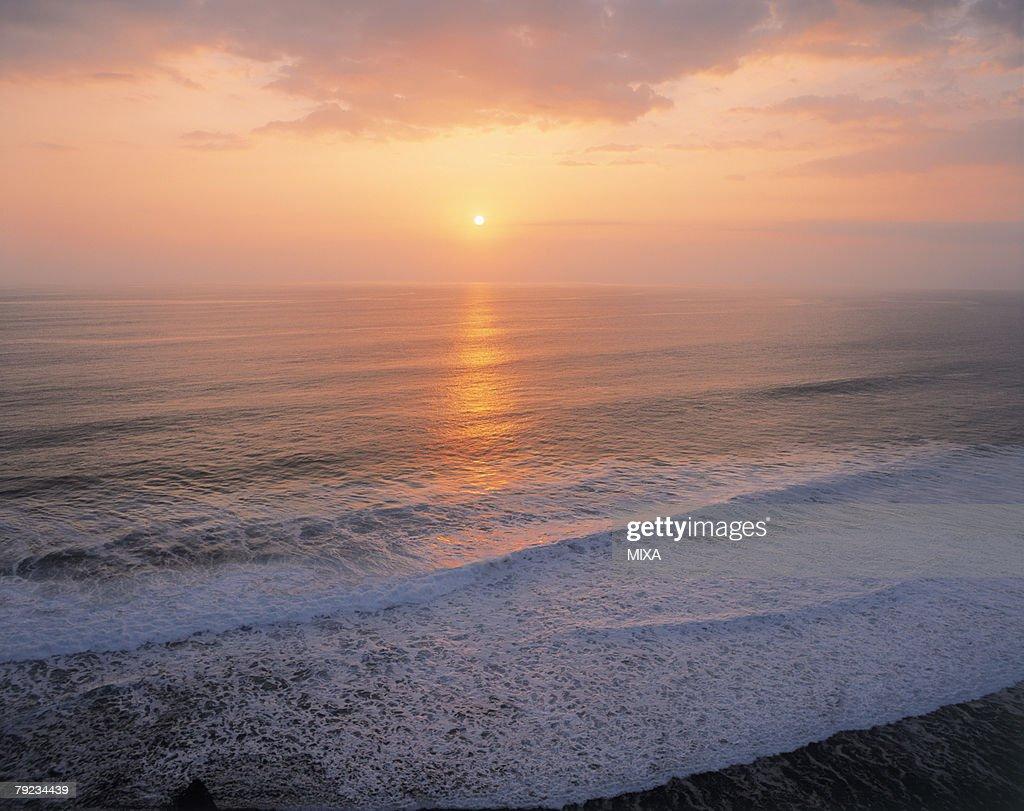 Sunset in Bali, Indonesia : Stock Photo