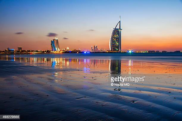 Sunset in Burj Al Arab