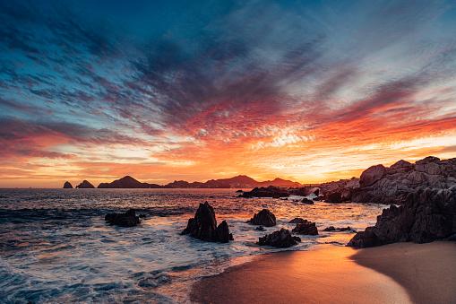 Sunset in Cabo San Lucas 1141277826