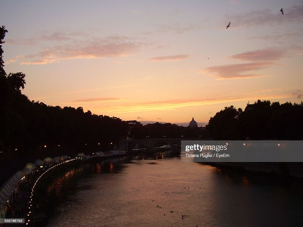 Sunset In City : Foto stock