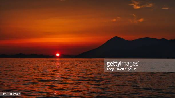 sunset in croatia - andy rinkoff stock pictures, royalty-free photos & images
