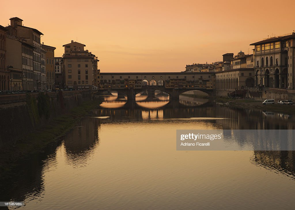 Sunset in Florence : Foto stock