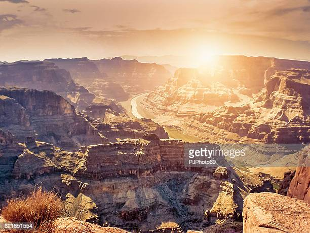 Sonnenuntergang in Grand Canyon