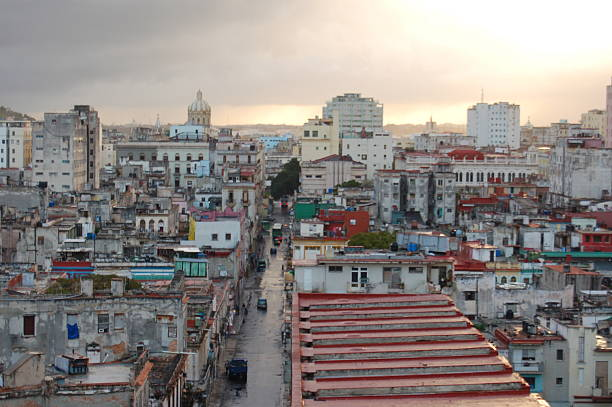 Sunset In Havana Wall Art