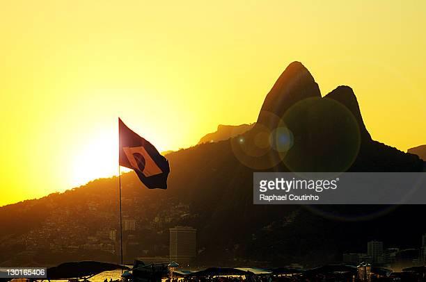 Sunset in Ipanema