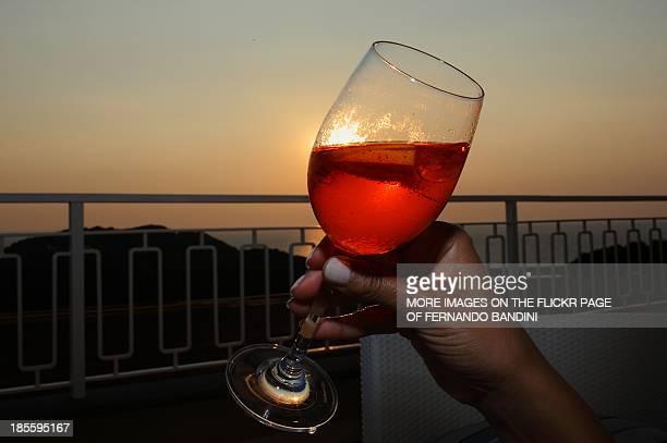 Sunset in Ischia