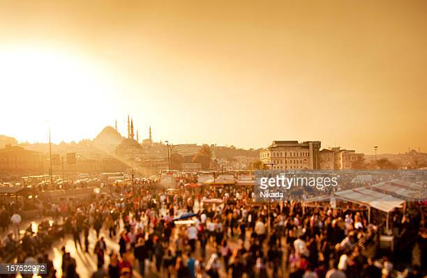 Sonnenuntergang in Istanbul, Türkei