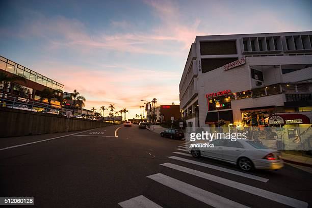 Pôr do sol em La Jolla, Califórnia, EUA
