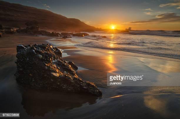 sunset in la solapa - solapa - fotografias e filmes do acervo