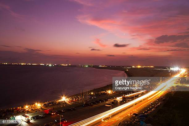Sunset in Lagos - Nigeria