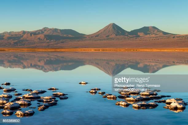 Sunset in laguna tebinquinche, San Pedro de Atacama
