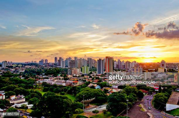 Sunset in Londrina Brazil