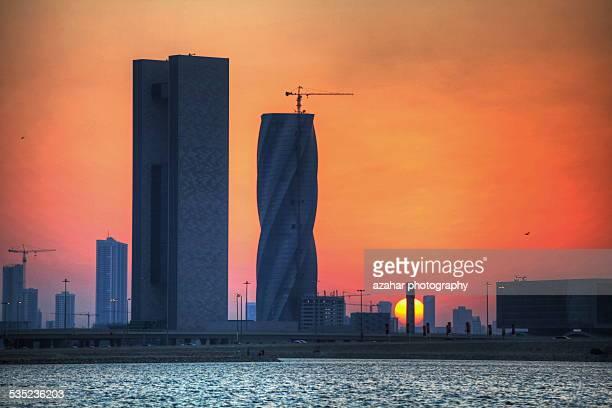 Sunset in Manama