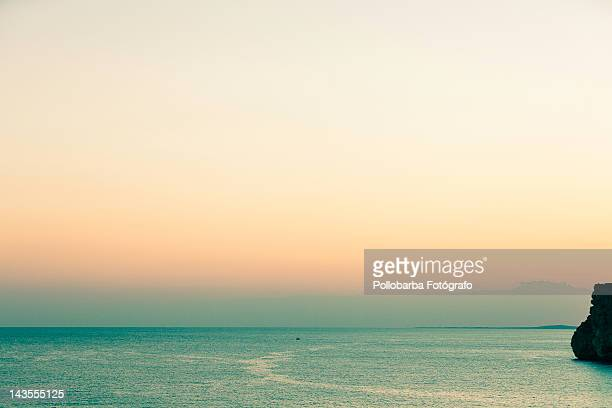 sunset in menorca - fotógrafo stock photos and pictures