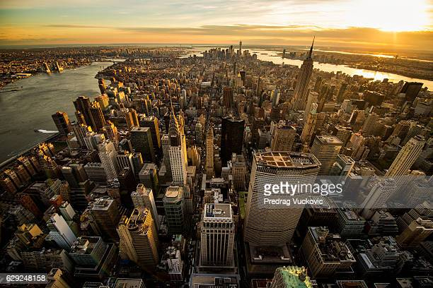 Sonnenuntergang in New York