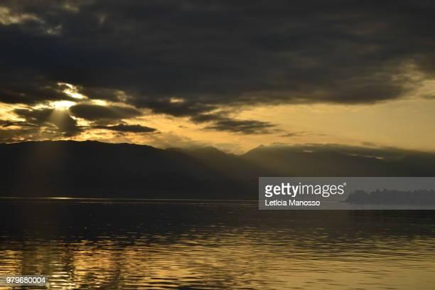 Sunset in Ohrid, Macedonia