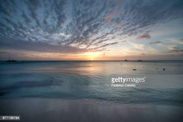 Sunset in Palm Beach, Aruba