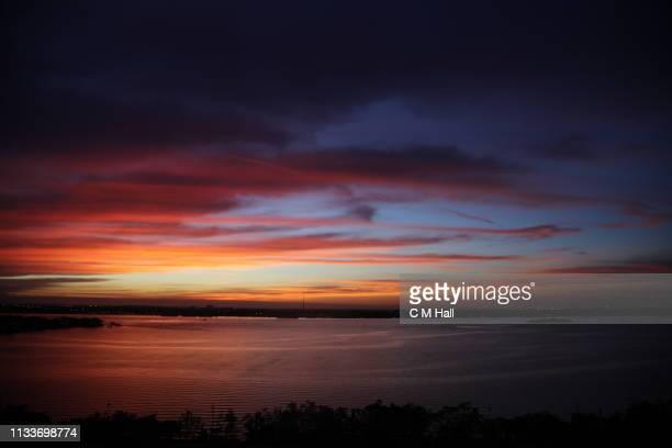 sunset in palm beach county - ウェストパームビーチ ストックフォトと画像