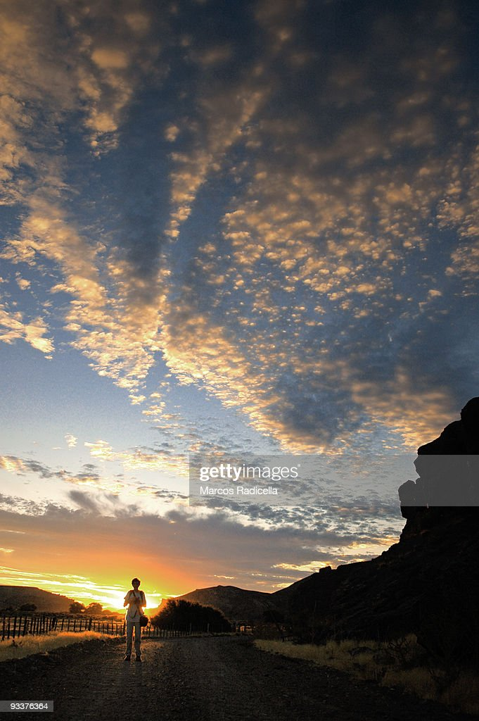 Sunset in Patagonia : Stock Photo