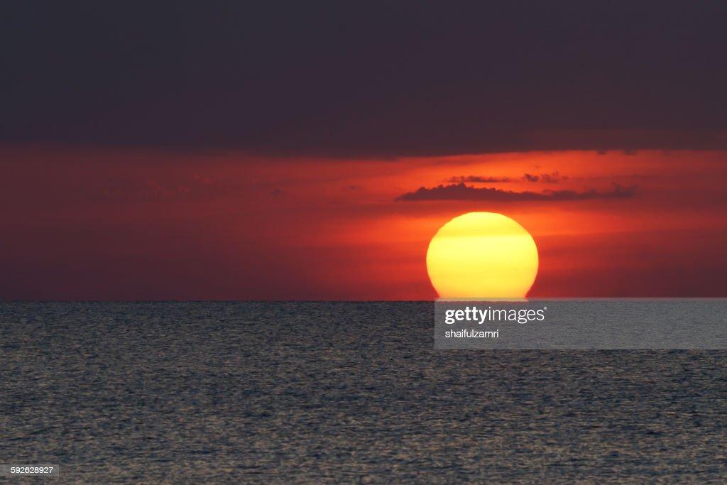 Sunset in Perak : Stock Photo