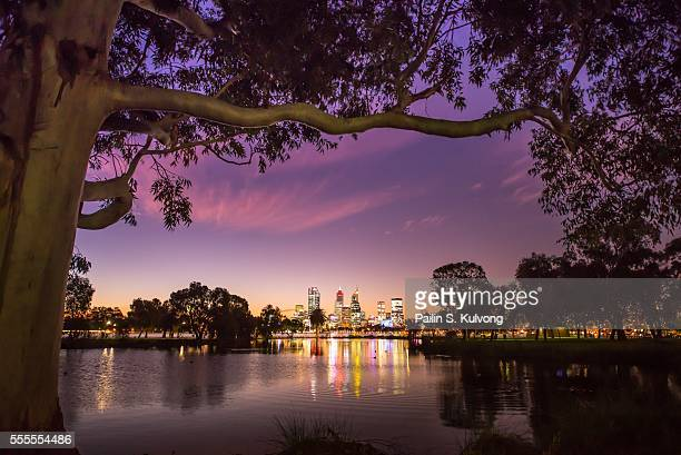 Sunset in Perth, Western Australia, Australia