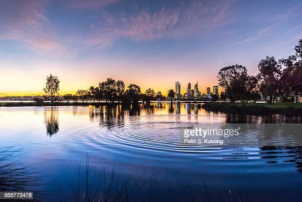 Sunset in Perth, Western Australia