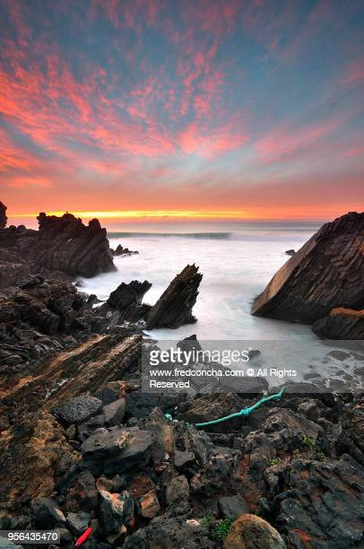 Sunset in Sintra-Cascais Natural Park