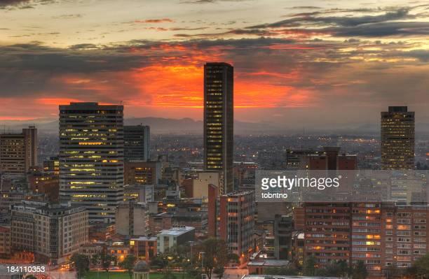Sonnenuntergang in der Stadt, HDR