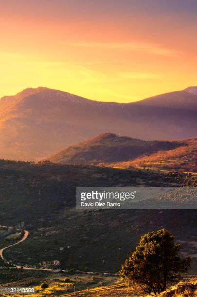 Sunset in the 'Sierra de Guadarrama'