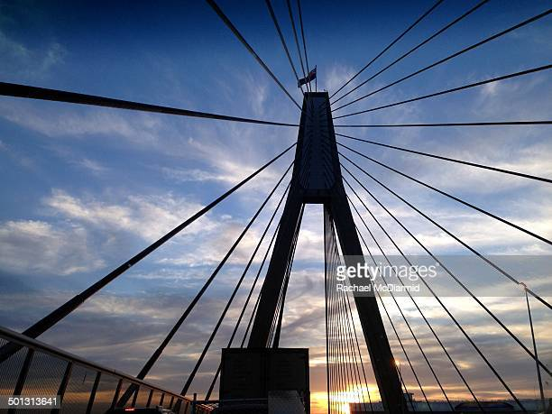 CONTENT] Sunset in traffic along the Anzac Bridge in Sydney